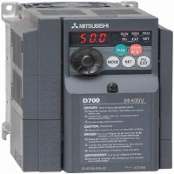 Biến tần FR-D740 có công suất 0.4-15KW